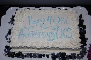 Happy 40th CICS!