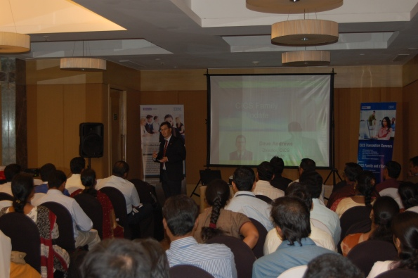 Dave Andrews opening Keynote - India CICS Developers Conference